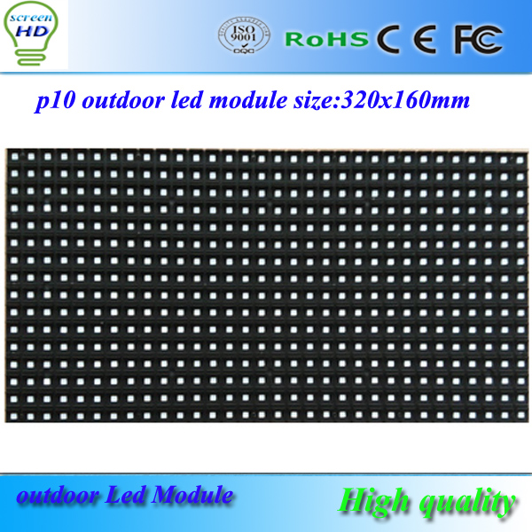 Buy led display p10 outdoor rgb led for Exterior led screen