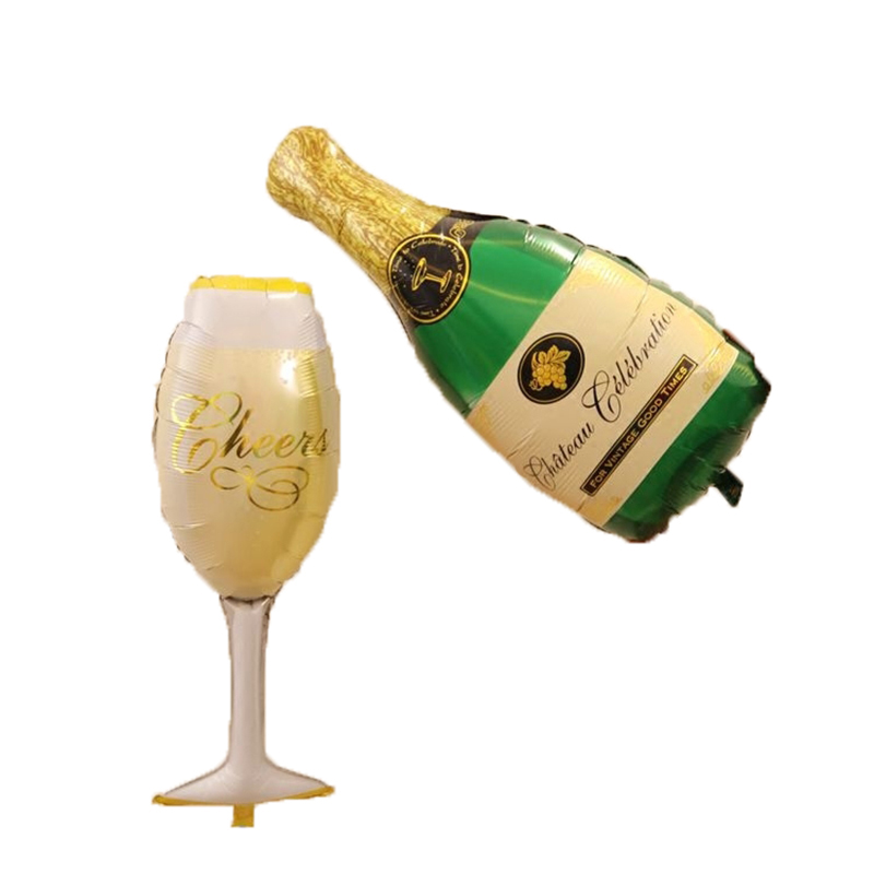 Aliexpress.com : Buy CHEERS CHAMPAGNE Bottle And Glass ...