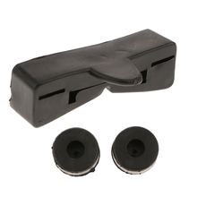 Motorcycle Rear Fuel Gas Tank Rubber Cushion Pad Mount for Honda CG125 High Quality & Durable Shock Proof Black
