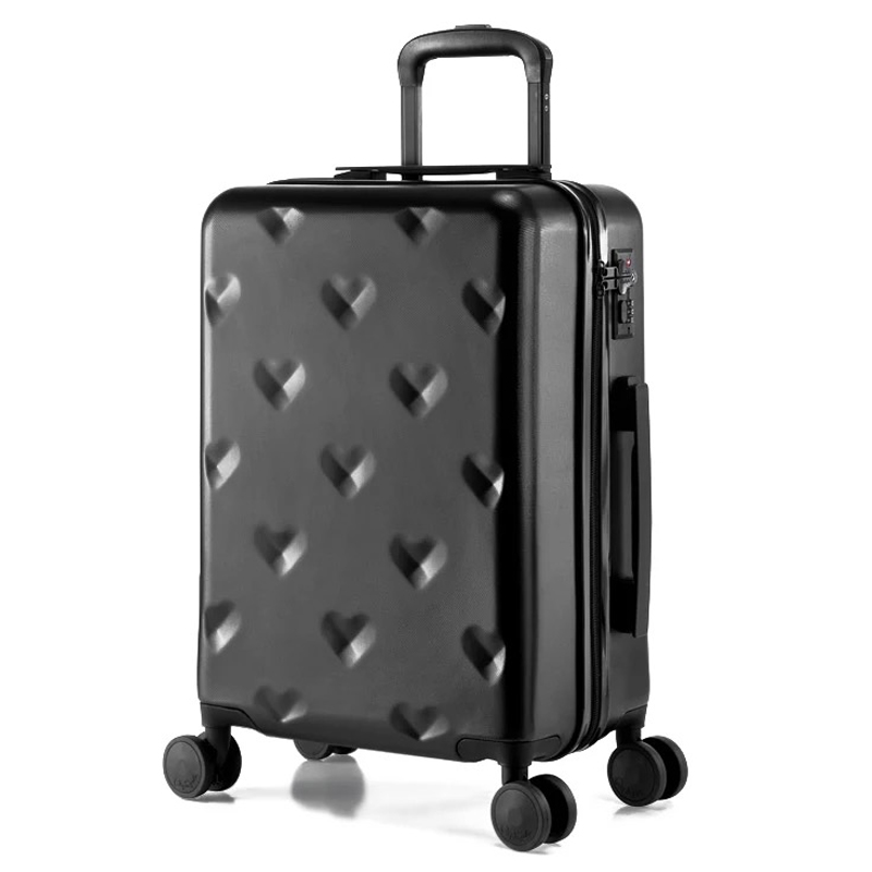 Us 105 28 6 Off Graspdream 20 24 Inch Brand Rolling Luggage Suitcases And Travel Bags Carry On Hand Trolley Case 4 Wheels Spinner Lovely In
