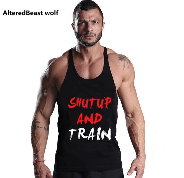 New Men tank tops Bodybuilding fitness gyms clothing Men s Golds gyms fitness Stringer gyms