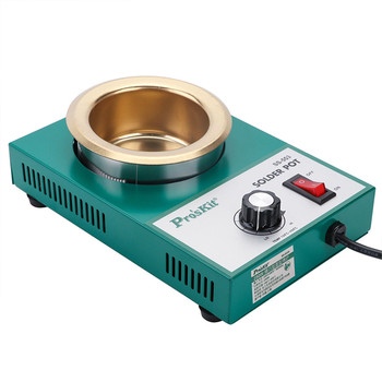 SS-554H High Quality 300W Temperature Controlled Soldering Pot 2.2kg Melting flux Tin Pot Tin Cans