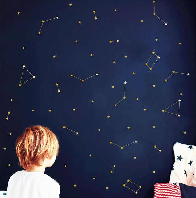 Special Art Constellation Wall Decal Zodiac Astronomy