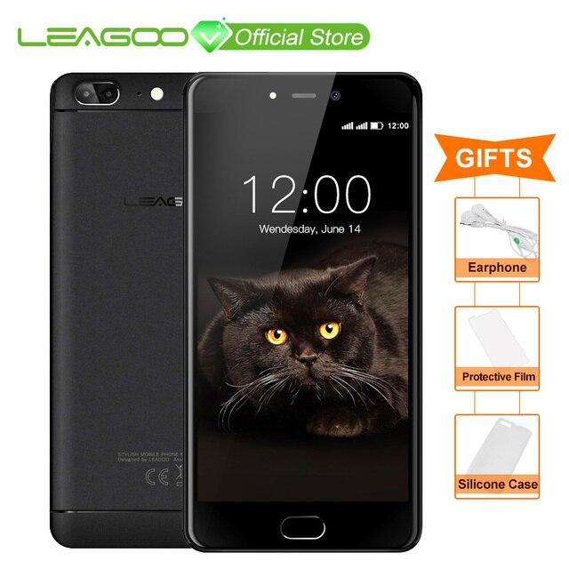 LEAGOO T5 Android 7,0 5,5 дюймовый смартфон FHD 4G B Оперативная память 6 4G B Встроенная память mtk6750t восемь ядер 13MP двойной сзади камеры отпечатков пальцев 4G телефон