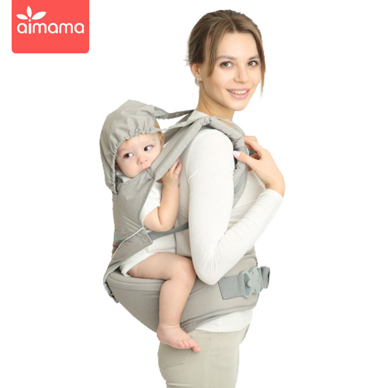 Aimama 0-36 Months Multi-purpose Baby Carrier Hip Seat   Baby Sling Backpack Kangaroos  Baby Wrap Traction Belt