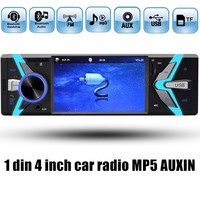 1 Din 4 Inch Auto Car Radio USB TF FM MP4 MP5 FM Radio Car Player