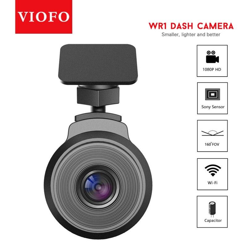 VIOFO WR1 Wi-Fi конденсатор IMX323 датчик HD 1080P 30fps 160 градусов Novatek 96655 чип Автомобильный видеорегистратор регистратор Обнаружение движения