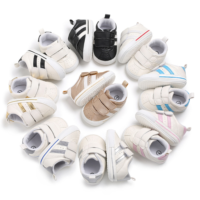 Spring And Autumn 0-1 Years Old Baby Boy And Girl Casual Non-slip Breathable Mesh Baby Toddler Shoes Summer Kids First Walkers