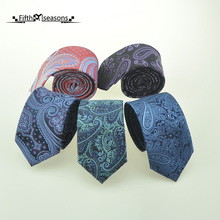 CHCUM Silk Jacquared Paisley Neck Tie Classical Business Ties For Men 2017 Dress Collocation For Wedding Party Tie Brand