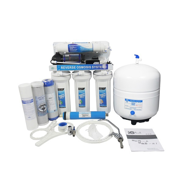 Automatic flushing Household RO water purifier health  ro water filter system RO-5P-5G Retail Aquarium filter water filter 50g ro system accessories