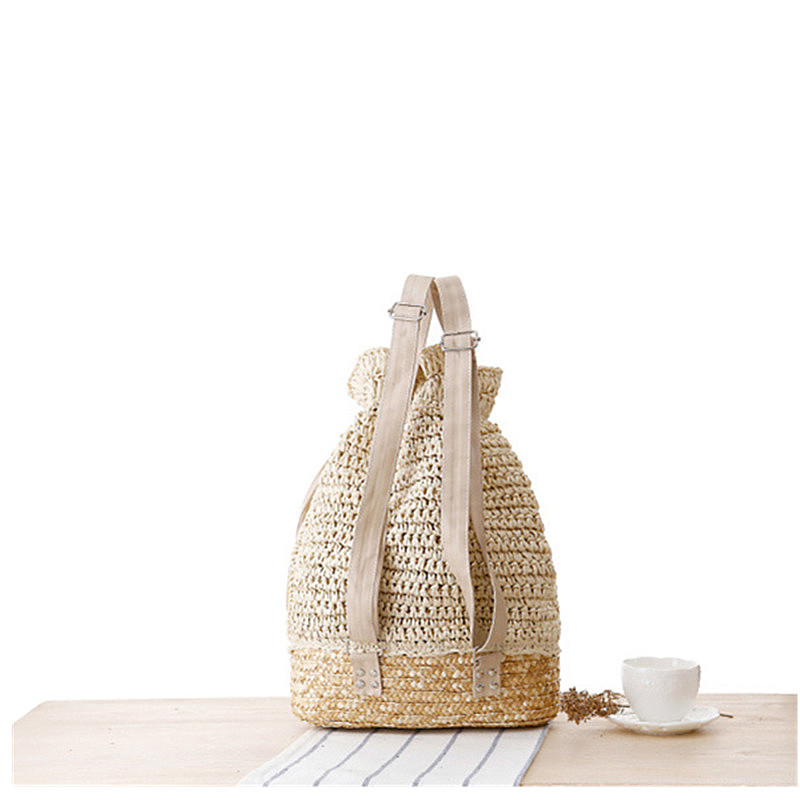 Aliexpress.com : Buy FZMBAI Leisure Drew string Crochet Backpack ...