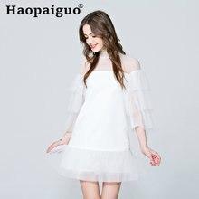 Пикантное вечернее платье в Корейском стиле женское приталенное