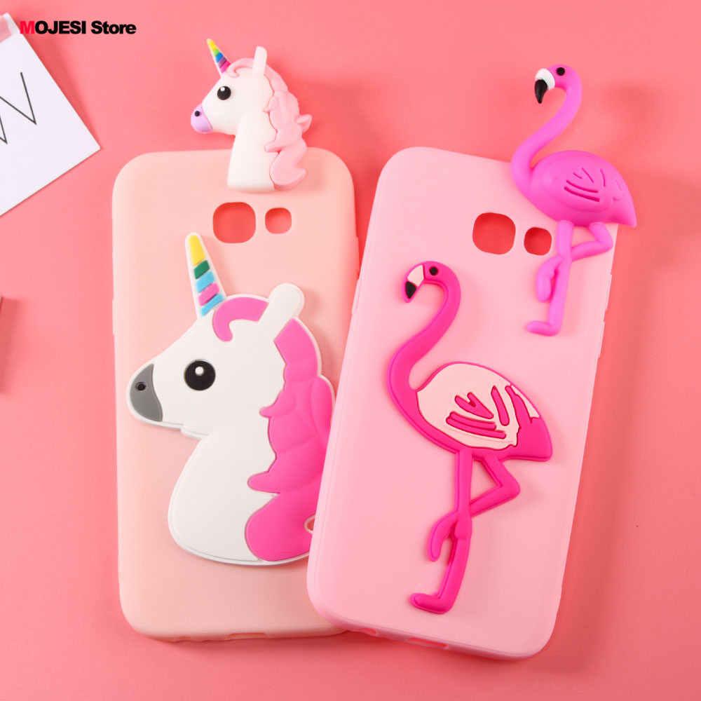 Силиконовый матовый Mofi ультра тонкий для Samsung Galaxy A5 2017 5.2 дюймовый корпус прекрасная игрушка панда крышка Little Pony медведь мягкие В виде ракушки случае