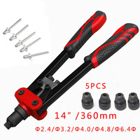 1 Pc 13 14 Heavy Duty Industrial Manual Drawing Stainless Steel Riveter Tool 2 4 3