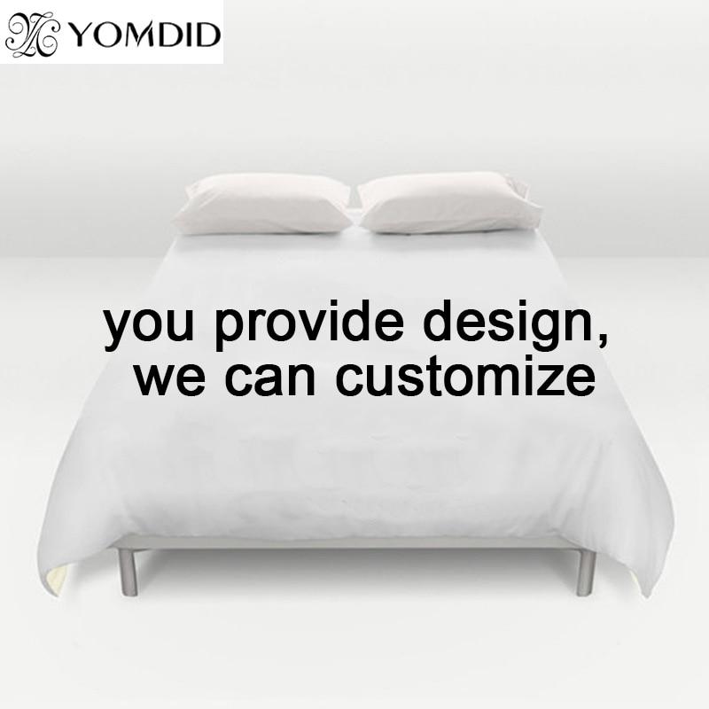 2pcs 3pcs Duvet Cover Sets Pillowcases Customize Bedding Set Customer Customize Printed Pillowcase Full Queen King