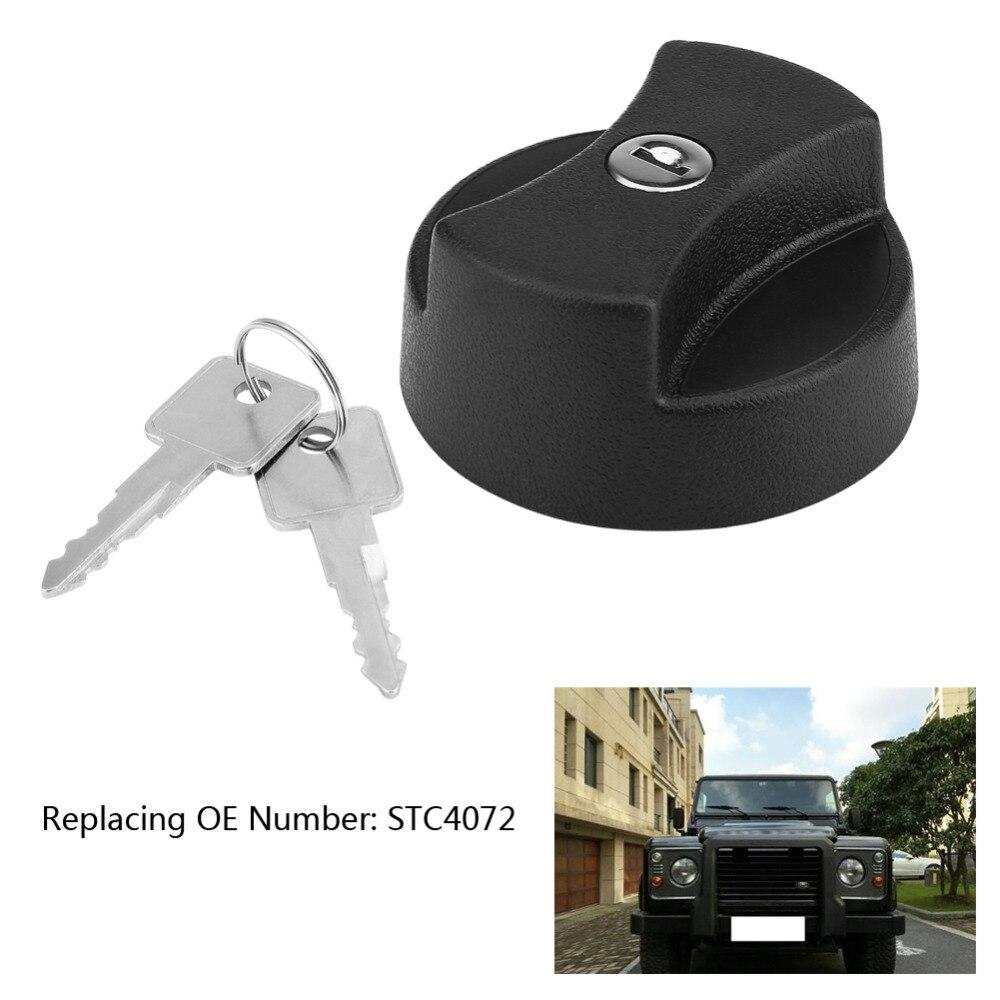 Car Fuel Filler Cap with 2 Locking Keys for Land Rover Defender 87-98 STC4072