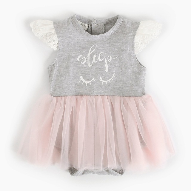 5039ba89a Baby Girl Summer Romper Kids Girls Clothing Cotton Newborn Clothes ...