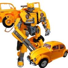 BMB weijiang كبيرة الحجم التحول الاطفال اللعب سبيكة H6001 3 SS أنيمي سيارة روبوت ديناصور نموذج عمل الشكل الكبار بوي لعبة هدية