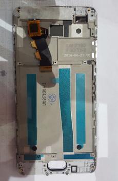 """5.0 """"para meizu m3s mini lcd, meilan m3s pantalla lcd con pantalla táctil de cristal digitalizador reemplazo del conjunto del marco"""