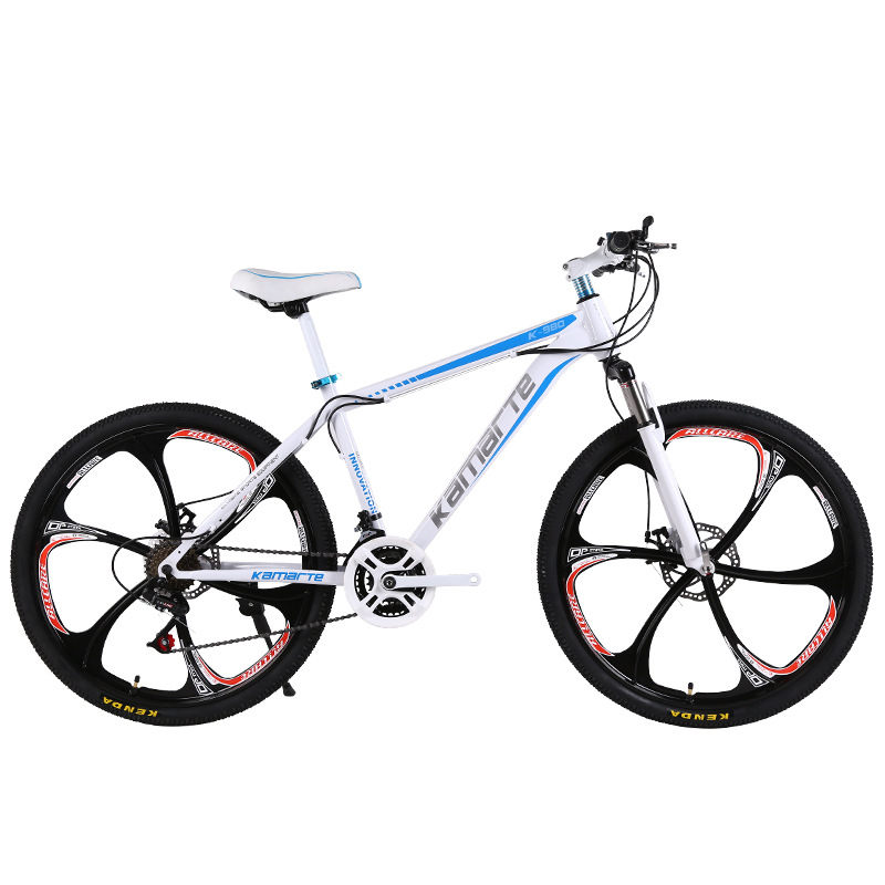 24/26 inch 27 speed top version mountain djustable front fork bike bicycle speed off-road racing shock absorption student bicycl