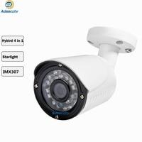 STARVIS 1080P Hybrid CVI TVI CVBS 4 IN 1 OSD Menu Free Switch Waterproof IP66 2MP CCTV Bullet Outdoor Camera AR MHD8204RL