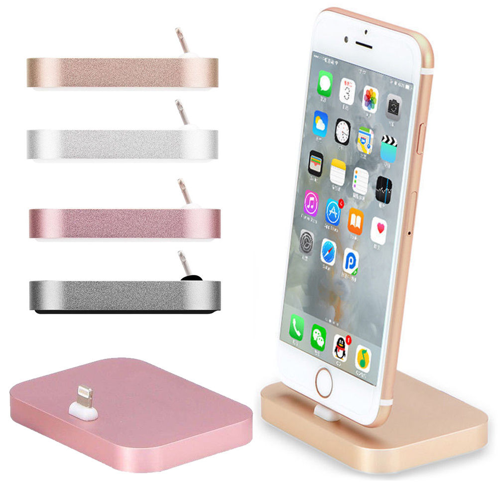 For iPhone 6 Charger Docking Station Cradle Charging Sync