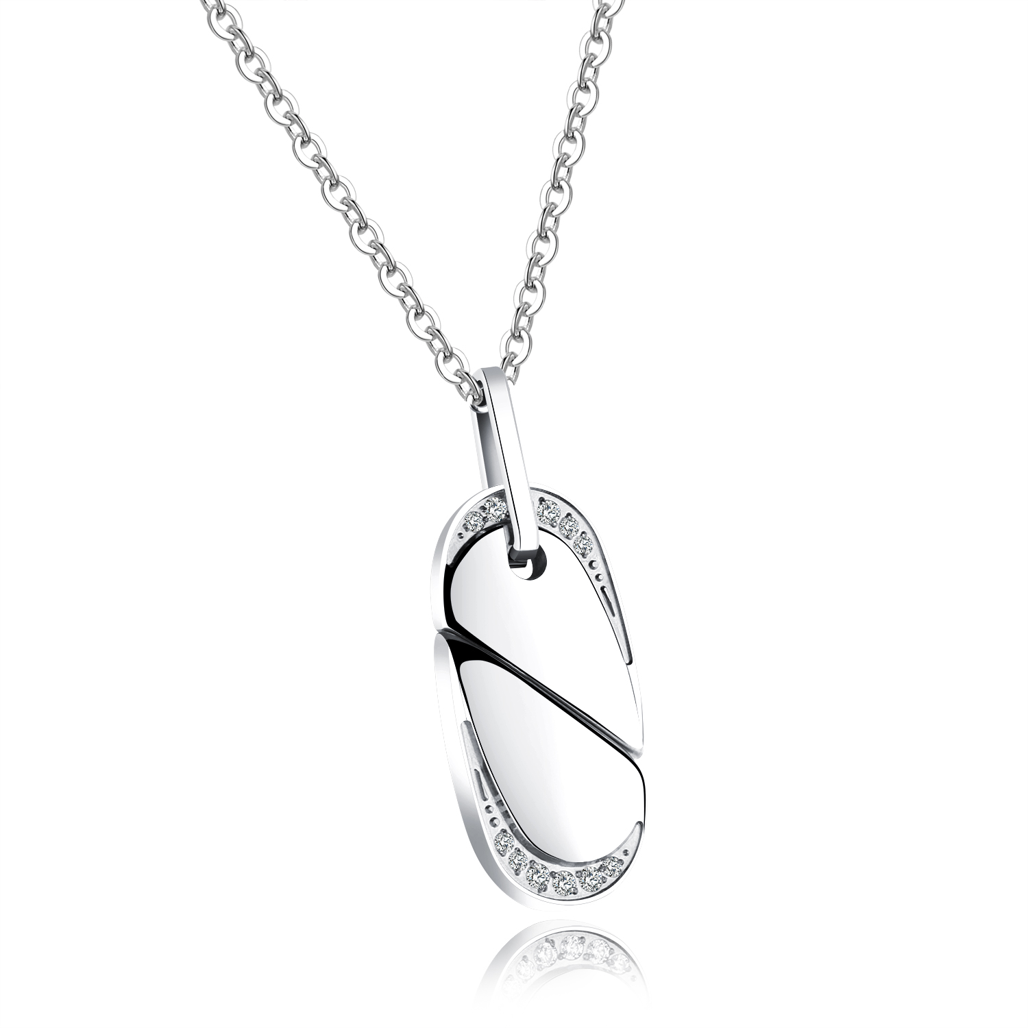 jewelry sterling daughter mother silver heart products footnotes necklace jewellery