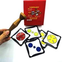 2018 настольная игра Золото дерево джунгли маркер run быстрая пара скорость лес вечерние забавные карты вечерние/семья игры