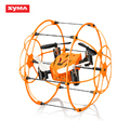 Syma X18 4CH 360 Flips 2.4GHz Climb RC Quadcopter Drone w 6-Axis Gyro with Net Protective Cover RTF