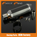 51mm Exhaust Muffler With Moveable DB Killer For CB400 CB600 CBR600 CBR1000 YZF R1 R6 GSXR NINJA Motorcycle Z750 800 Street Bike