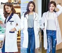 2019 women medical uniforms nursing scrubs clothes short sleeve coat doctor clothing brush hand clothing