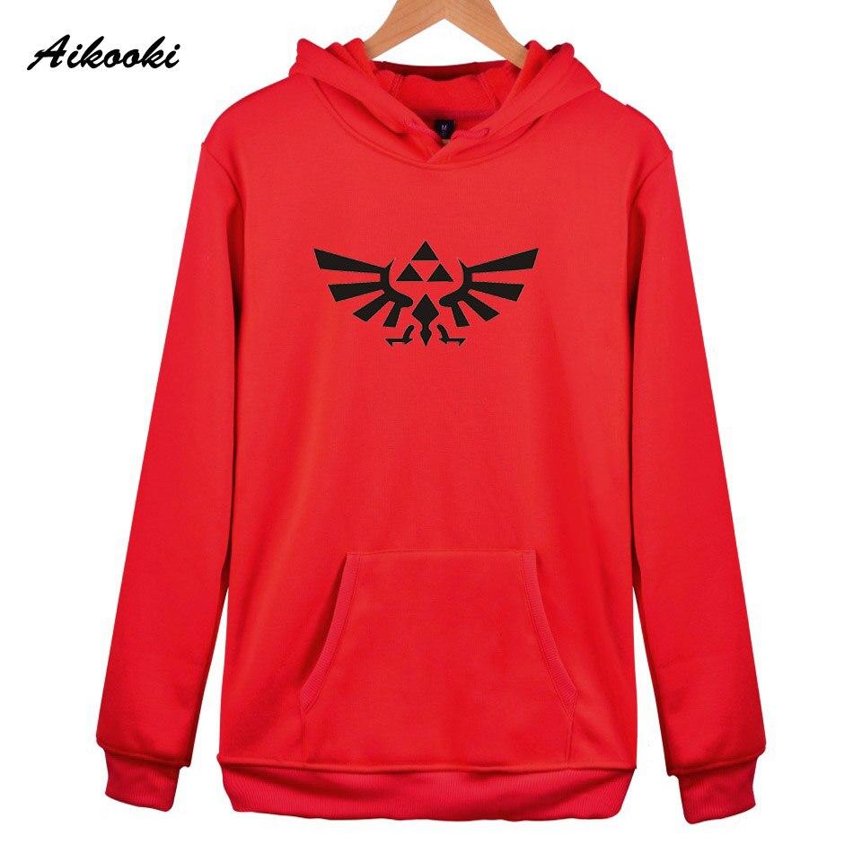high quality Hoodie Tops Aikooki New Fashion legend of zelda Hoodies Men Casual legend of zelda Hoodies Women/Men Sweatshirt