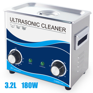 Image 1 - 180W Ultrasonic Cleaner 3.2L 150W Heating Water Bath Spark Plug Injector Fuel High Temperature Oil Rust Hardware Metal