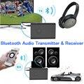 Беспроводной КСО 4.0 Bluetooth Автомобиля Приемник, Bluetooth Аудио Приемник и Передатчик (A2DP/Apt-X) с 3.5 мм Стерео Выход Адаптер