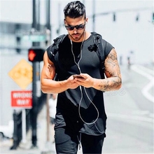 Brand clothing fitness t shirt men fashion extend long tshirt summer gym short sleeve t-shirt cotton bodybuilding crossfit tops