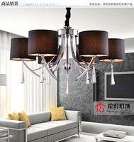 Lamps modern brief crystal pendant light restaurant lamp qd9002