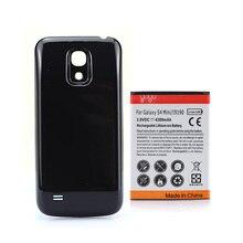 Высокое Качество Мобильного Телефона Batteria Для Samsung Galaxy S4 SIV mini i9190 Аккумуляторная Батарея 4300 мАч + Задняя Крышка Крышка