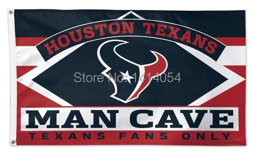 Houston Texans Man Cave Accessories : Houston texans man cave fans only flag cm banner d