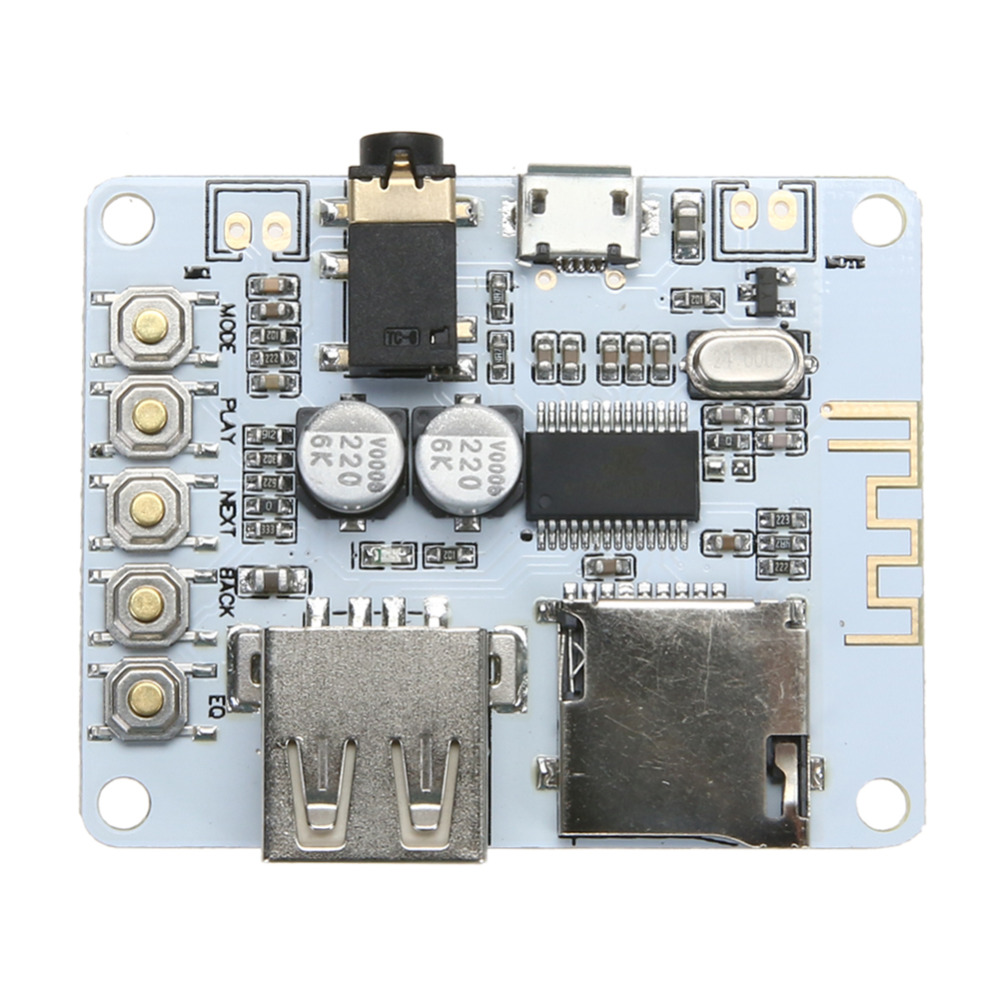 DC 5V Bluetooth Audio Receiver Module USB TF/SD Card Decoding Board Preamp Output Support FAT32 system dc 5v bluetooth audio receiver module usb tf sd card decoding board preamp output support fat32 system