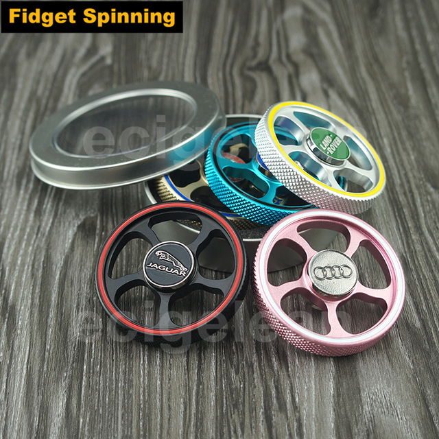 POST 1pc Fid Spinner Hand Spinner CAR WHEEL of AUDI Jaguar