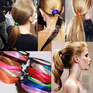Accessories multicolour wig horseshoers headband apron hair accessory female