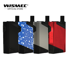 Original Wismec HiFlask Kit built in 2100mAh Battery 5.6ml with Juice Vertical & U Airflow System Electronic cigarette vape kit