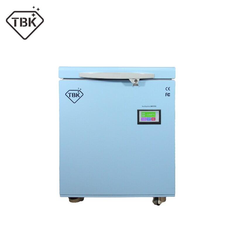 TBK-598 Nouvelle version gel séparateur-180 degrés congelés machine pour Samsung S6 bord S7 S9 note 8 LCD Tactile écran de réparation