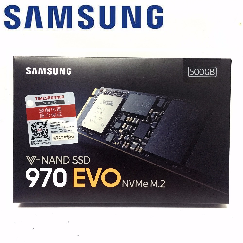 SAMSUNG 970 EVO 970EVO 500GB NVMe M.2 SSD PCIe 3.0x4 PC Desktop Laptop Server Internal Solid State Dribe 500G SSD 250GB 1TB 2TB