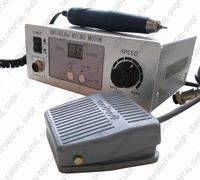 70 000 RPM Non Carbon Brushless NEW Aluminium Shell Dental Micromotor Polishing Unit With Lab Handpiece