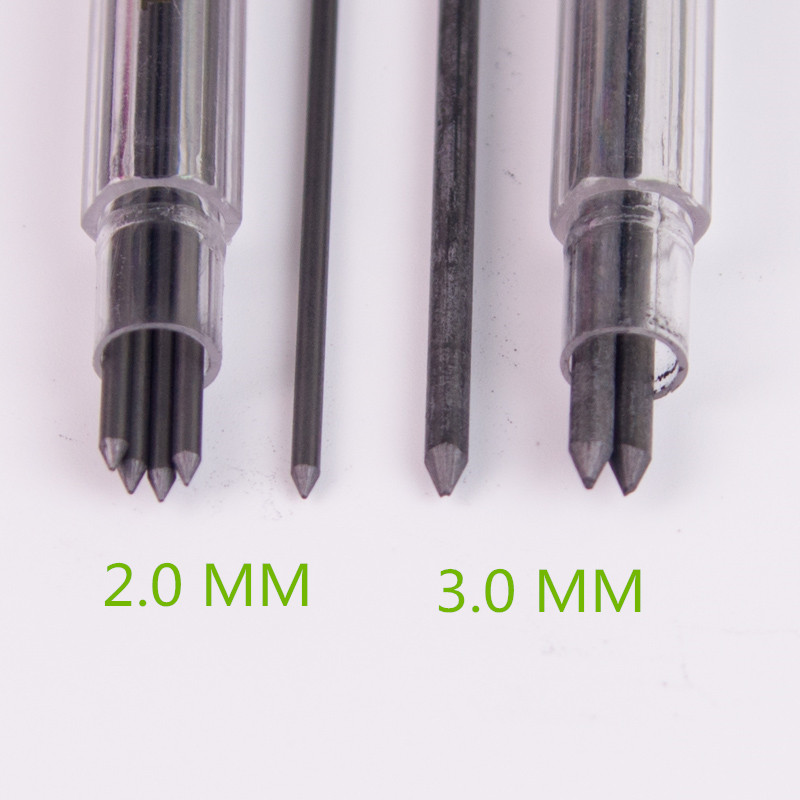 Automatically Pencil Refills 2.0 Mm 3.0mm 4H,2H,H,HB,B,2B,3B,4B,5B,6B,8B,10B Pencil Leads For Drawing/Sketching image