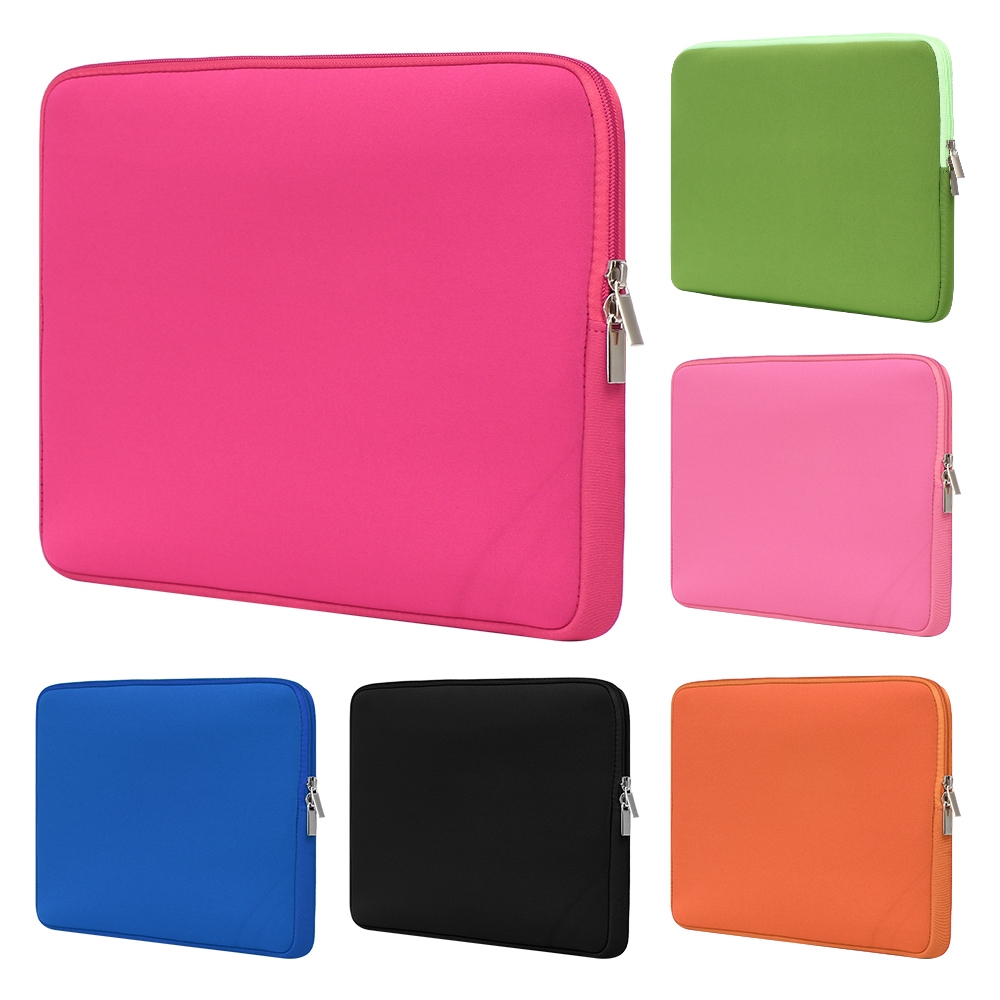 """11/"""" 13/"""" 14/"""" 15/"""" Notebook Cover Sleeve Soft Pouch Laptop Case Bag For Macbook Pro"""