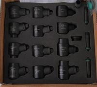 12pcs common rail injector tool for bosch and denso injector