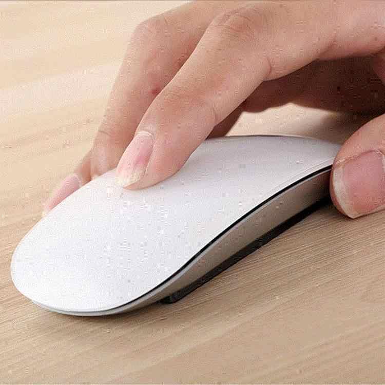 USB kablosuz/Bluetooth ultrathin fare için Apple dizüstü bilgisayar 1200DPI optik fare fare dokunmatik kaydırma tekerleği ile
