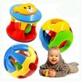 2 pçs/set new lovely baby baby toys agitação da mão de bell anel chocalhos plastic toys bebê educacional toys wj264